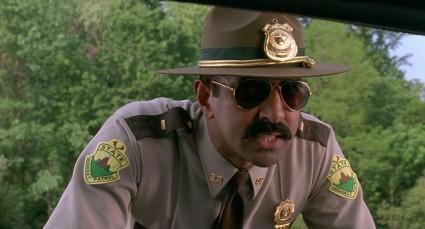 super troopers rare promo speeding ticket rare press promo still black cop rare hot