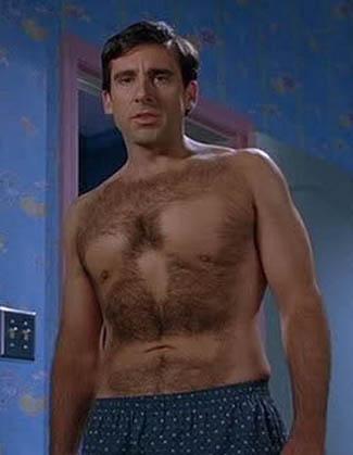 steve carell 40 year old virgin rare promo press still hot kelly clarkson chest hair wax scene rare shirtless promo hot