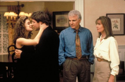 father of the bride press promo movie still photo george newburn kimberly williams