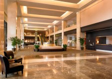 westin hotel lobby at the hollywood collector's show los angeles rare promo