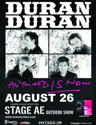 duran duran concert tour poster promo hot rare stage aw