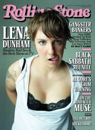 lena dunham rolling stone magazine cover hot sexy hannah horvath rare promo photo magazine cover