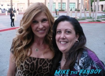 connie britton signing autographs fan photo rare prom suddenly susan signature rare promo american horror story friday night lights