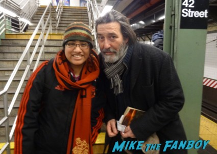 Mance Rayder himself Mr. Ciaran Hinds fan photo game of thrones signing autographs for fans rare promo