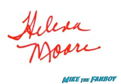 Helena Moore signed autograph the walking dead zombie autograph rare promo hot