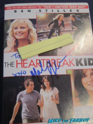 Malin Akerman signed autograph signature the heartbreak kid dvd cover rare promo dvd movie poster