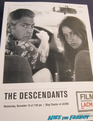 the descendants lacma q and a with george clooney and alexander payne
