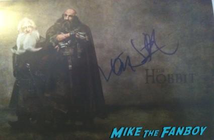 "Ken Stott (""Messiah"") signed autograph photo rare promo the hobbit hot sexy promo dwarf"