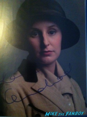 "Laura Carmichael (""Downton Abbey"" - Lady Edith Crawley) signed autograph photo rare promo hot downton abby star signing autographs"
