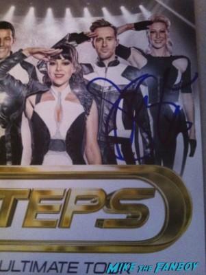 Faye Tozer signed autograph steps photo rare promo