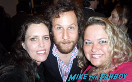 Ione Skye & Ben Lee fan photo signing autographs for fans rare promo signing autographs now say anything
