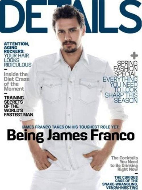 James Franco hot details magazine march 2013 cover hot photo shoot rare promo sexy oz the great and powerful promo sex photo gay rumors