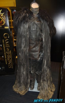 Jon Snow costume Kit Harrington's full Night's Watch costume original prop costume game of thrones kit harrington rare jon snow cosplay