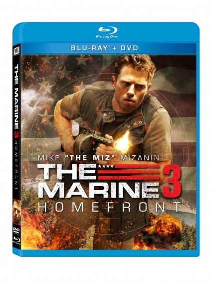 Marine 3 homefront cover art spine key art poster rare Marine 3 homefront press promo still photo hot sexy Mike 'The Miz' Mizanin