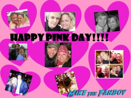 pretty in pinky mike the fanboy happy holiday card rare valentine's day rare nick rhodes bradley cooper matt damon rare