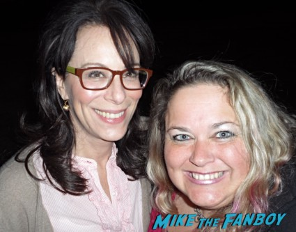 Jane Kaczmarek signing autographs rare promo fan photo hot malcom in the middle star rare