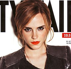 emma watson vanity fair italy magazine cover hot sexy rare promo photo shoot perks of being a wallflower harry potter hottie