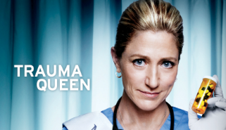 Nurse Jackie Season 5 key art promo poster edie falco rare miss behaving promo hot rare showtime series