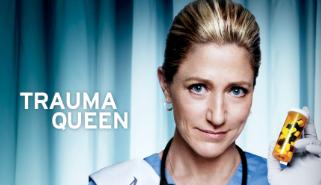 Nurse Jackie Season 5 key art promo poster edie falco rare miss behaving promo hot rare showtime series