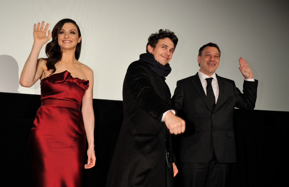 Oz the great and powerful tokyo movie premiere with james franco sam raimi rachel weisz signing autographs rare promo