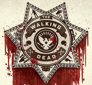 the walking dead paleyfest 2013 promo poster gallery 1988 bleeding shield rare promo hot poster promo