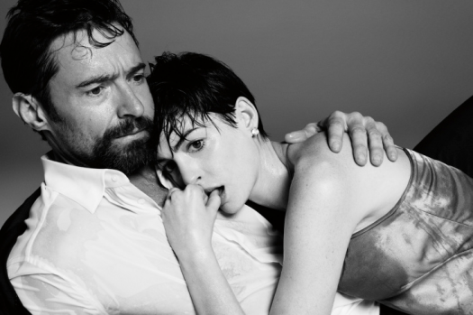 hugh jackman and anne hathaway time magazine's great performances portrait photo shoot 2013 academy awards 2012 rare lincoln