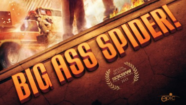 big ass spider movie poster promo review one sheet greg grunberg lin shaye clare kramer rare promo hot sexy rare mike mendez