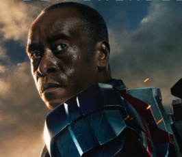 iron man 3 don cheadle war machine rare promo one sheet movie poster promo iron man 3 rare poster