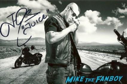 Theo Rossi signed autograph photo rare promo hot sexy rare promo