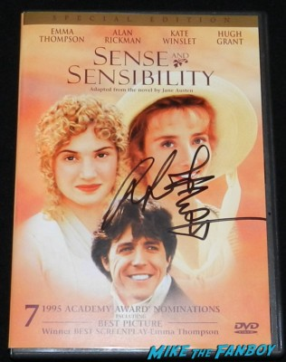 ang lee signed autograph sense and sensibility dvd cover rare promo movie poster one sheet hot rare autograph signing autographs for fans aero theater life of pi q an 010
