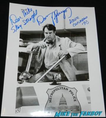 dan aykroyd signed autograph loose cannons photo rare signature rare promo photo