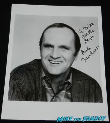 bob newhart signed autograph photo the bob newhart show rare headshot rare