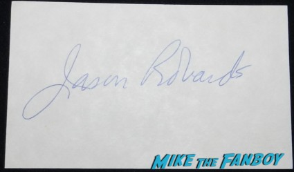 jason robards signed autographs index card photo rare parenthood brewsters millions
