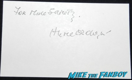 hume cronyn signed autograph index card photo rare promo cocoon the return rare