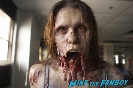 Erin Leigh Bushko the walking dead jawless zombie rare promo season 3 rare walker promo