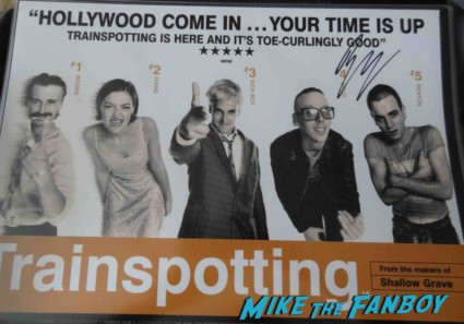 ewan mcgregor signed autograph promo photo hot sexy movie poster promo hot sexy trainspotting poster rare hot