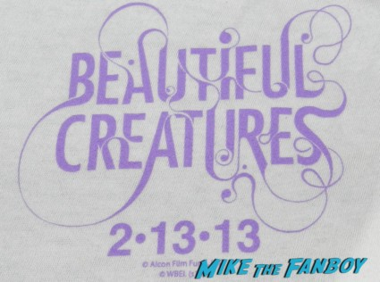 beautiful creatures light caster rare promo shirt giveaway rare san diego comic on exclusive giveaway shirts 005
