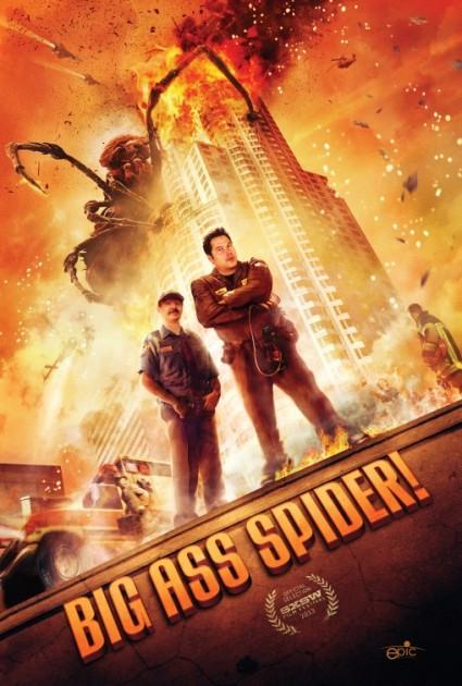 big ass spider movie poster promo review one sheet greg grunberg lin shaye clare kramer rare promo hot sexy rare mike mendez