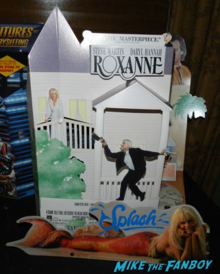 darryl hannah splash roxanne counter standee display rare video store promo hot