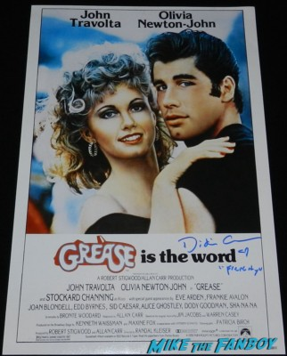 didi conn signed autograph grease promo movie poster one sheet rare didi conn signing autographs for fans grease frenchy now 2013 011