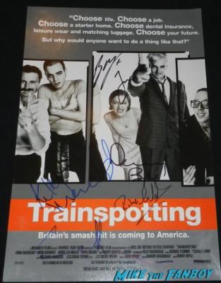 ewan bremner ewan mcgregor kelly macdonald robert carlisle signed autogrraph promo movie poster jack the giant slayer movie premiere nicholas holt hot ewan brem 049