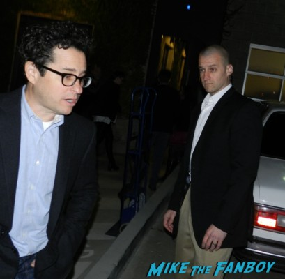 jj abrams signing autographs for fans at the irish awards at bad robot studios rare promo alias star trek into darkness