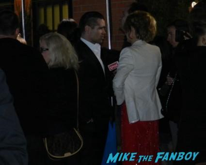 colin farrell signing autographs for fans irish awards promo hot green carpet rare promo fright night