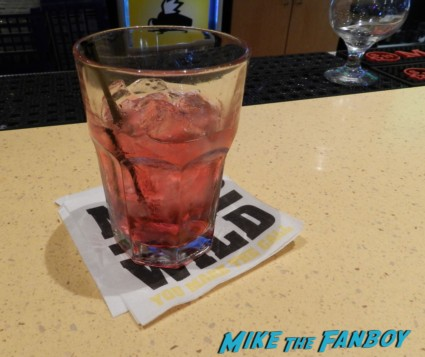 cranberry juice and vodka at buffalo wild wings in hollywood OZ The Great And Powerful Movie Premiere red carpet rare promo el capitan theater los angeles oz great and powerful movie premiere 002