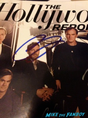 ben affleck signed autograph the hollywood reporter magazine hot signature promo photo the directors edition