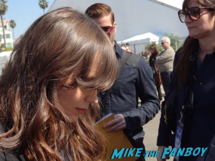 ellen page signed autograph dazed and confused mini poster signing autographs at the The Independent Spirit Awards 2013! Drama! Insanity! With Jennifer Lawrence! Daniel Radcliffe! Matthew McConaughey! Ellen Page! Jason Bateman! Salma Hayek! Kerry Washington! Bradley Cooper! Chris Tucker! Sam Rockwell! Zoe Saldana! Paul Rudd! And So Much More! Autographs! Photos! And More!