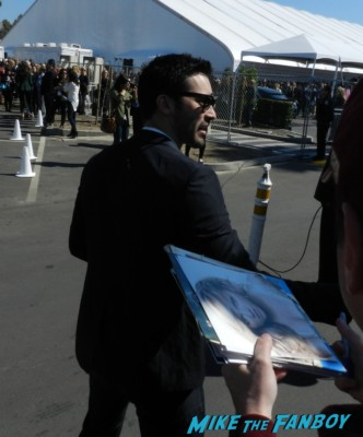 Tyler Hoechlin signing autographs at the The Independent Spirit Awards 2013! Drama! Insanity! With Jennifer Lawrence! Daniel Radcliffe! Matthew McConaughey! Ellen Page! Jason Bateman! Salma Hayek! Kerry Washington! Bradley Cooper! Chris Tucker! Sam Rockwell! Zoe Saldana! Paul Rudd! And So Much More! Autographs! Photos! And More!