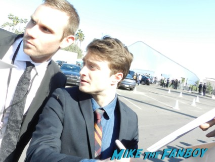 daniel Radcliffe  signing autographs at the The Independent Spirit Awards 2013! Drama! Insanity! With Jennifer Lawrence! Daniel Radcliffe! Matthew McConaughey! Ellen Page! Jason Bateman! Salma Hayek! Kerry Washington! Bradley Cooper! Chris Tucker! Sam Rockwell! Zoe Saldana! Paul Rudd! And So Much More! Autographs! Photos! And More!ng autographs spirit awards 2013 daniel radcliffe salma hay 033