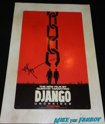 Kerry Washington signed Django Unchained mini poster movie chris tucker signing autographs at the The Independent Spirit Awards 2013! Drama! Insanity! With Jennifer Lawrence! Daniel Radcliffe! Matthew McConaughey! Ellen Page! Jason Bateman! Salma Hayek! Kerry Washington! Bradley Cooper! Chris Tucker! Sam Rockwell! Zoe Saldana! Paul Rudd! And So Much More! Autographs! Photos! And More!