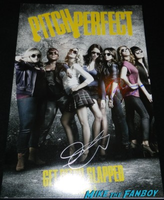 brittany snow signed autograph pitch perfect mini movie poster signing autographs at the The Independent Spirit Awards 2013! Drama! Insanity! With Jennifer Lawrence! Daniel Radcliffe! Matthew McConaughey! Ellen Page! Jason Bateman! Salma Hayek! Kerry Washington! Bradley Cooper! Chris Tucker! Sam Rockwell! Zoe Saldana! Paul Rudd! And So Much More! Autographs! Photos! And More!